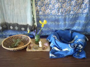 Sharon's Altar.  Photo by Jane McKann.